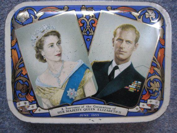Souvenir tin of the Coronation of Queen Elizabeth II by TheKnally