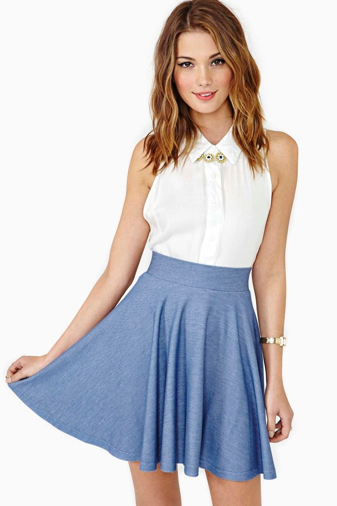 Summer Love Skater Skirt: