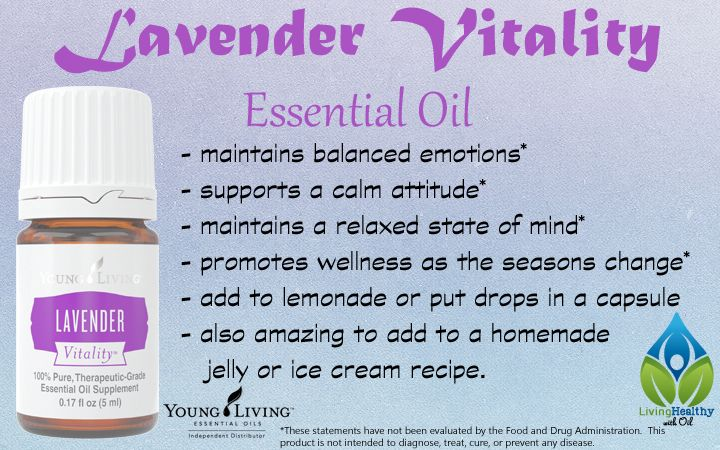 Lavender Vitality Essential Oil