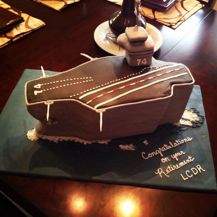 Aircraft Carrier Cake Recipe