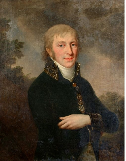 Józef (Josef)  Pitschmann Portrait of a Young Man, Warszawa, Willanow palace