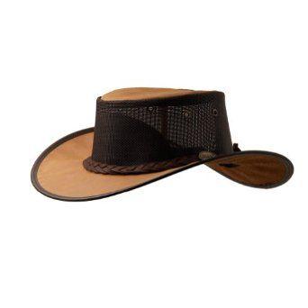 Barmah Hats Mustang Cooler Leather Hat 1078BR / 1078HI $48.00
