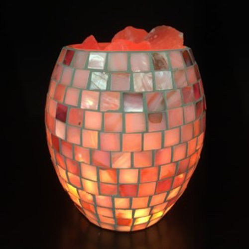 Glass Jar Lamp - Shell