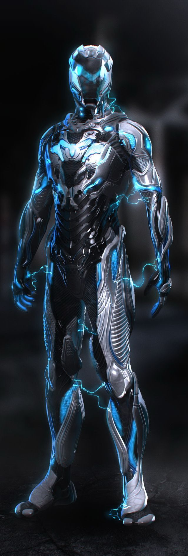 Max Steel concept art by Justin Goby Fields