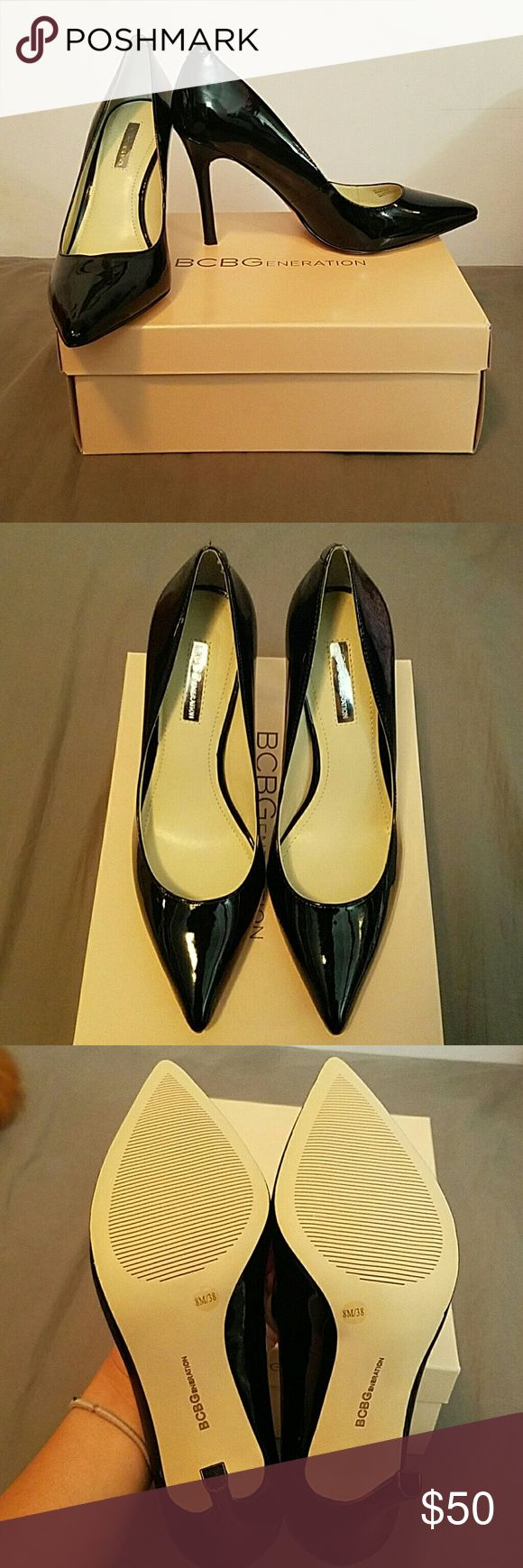 NIB* BCBG Pumps New in Box- Never worn. Only tried on. Love