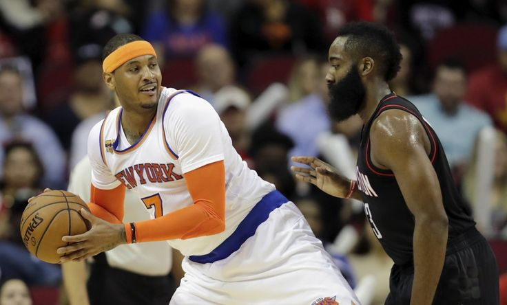 Rockets And Cavaliers Want To Trade For Carmelo Anthony…But They Aren't Serious