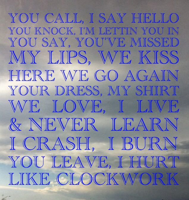 Easton Corbin Album Cover Clockwork
