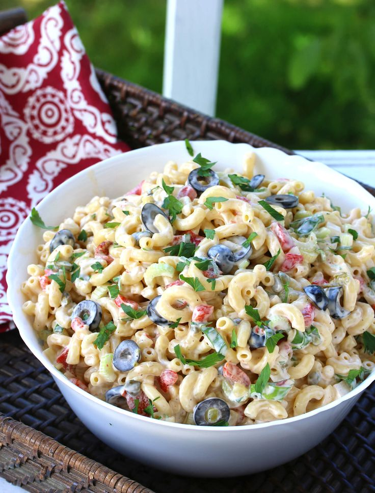 BEST Macaroni Salad   – leckerei aus der Küche