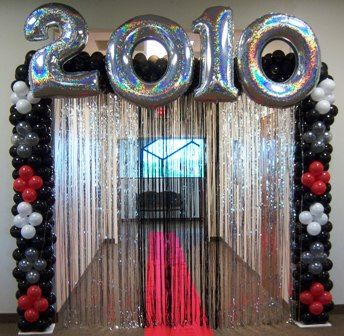 image detail for year columns party graduate primary colors make a spectacular splash graduation party decorgraduation - Graduation Party Decoration Ideas