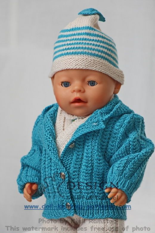 Breipatronen Baby born