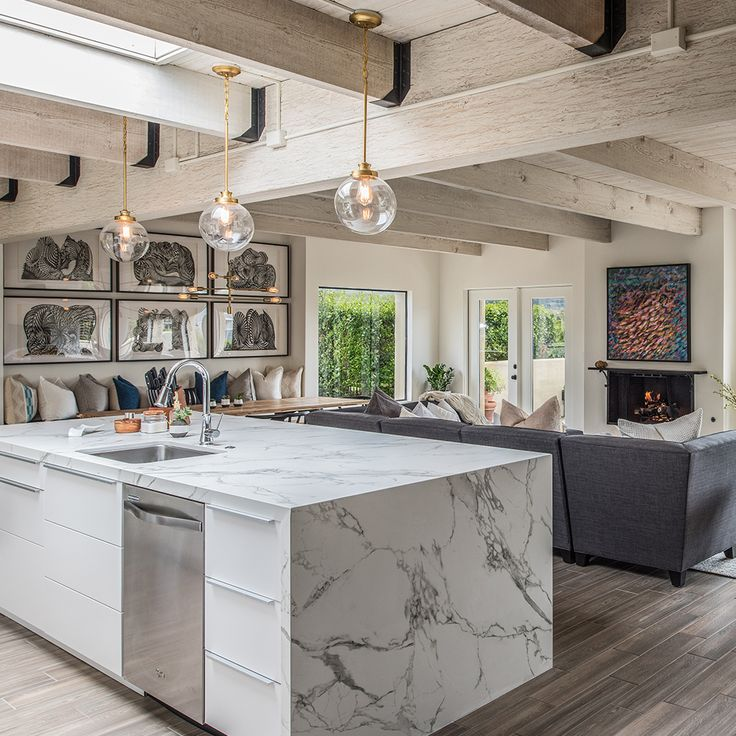 Architect Peter Brown Designed This Vast #kitchen In Carmel, California. He  Chose Dekton