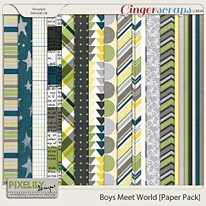 Boys Meet World [Paper Pack]