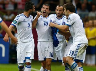 Giorgos Karagounis was a hero in 2004, and again eight years later!!! #euro2012 #hellas2012