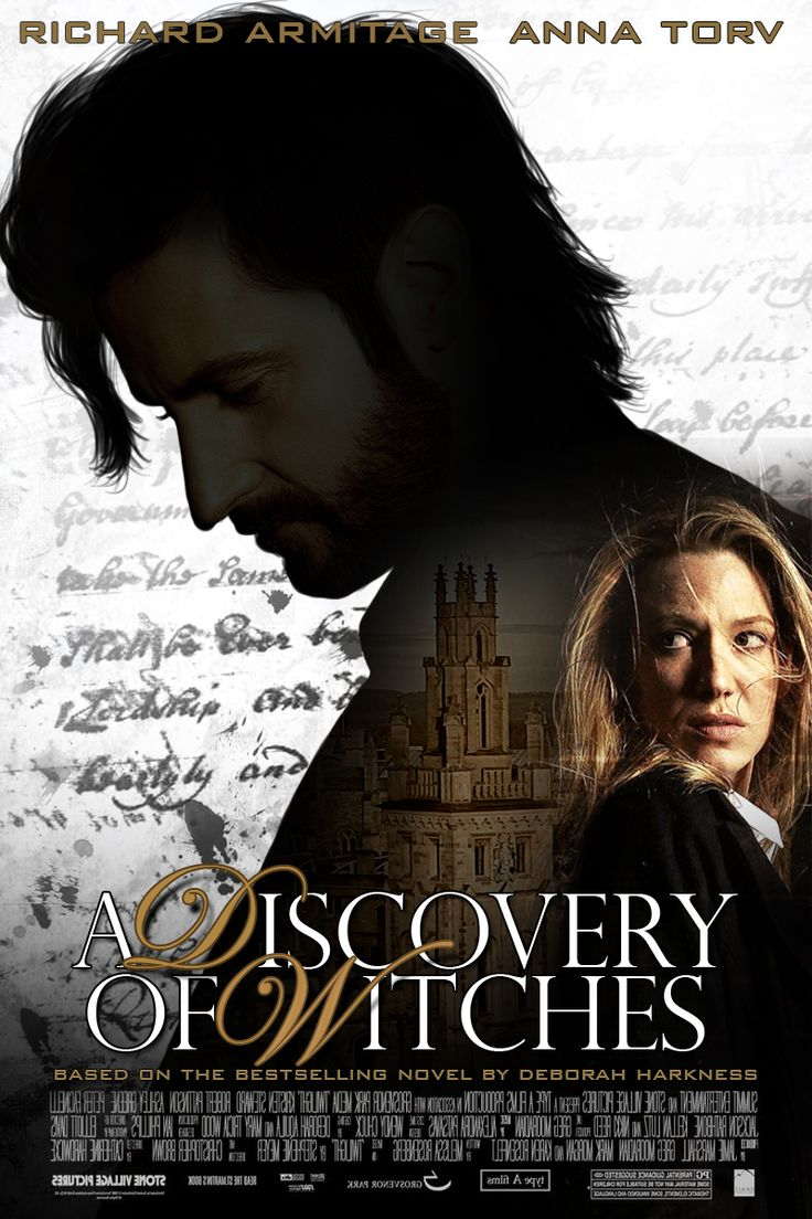 A Discovery Of Witches Movie Poster Starring Richard Armitage As Matthew  Clairmont On Deviantart By Thesearchingeyes · All Soulsdeborah
