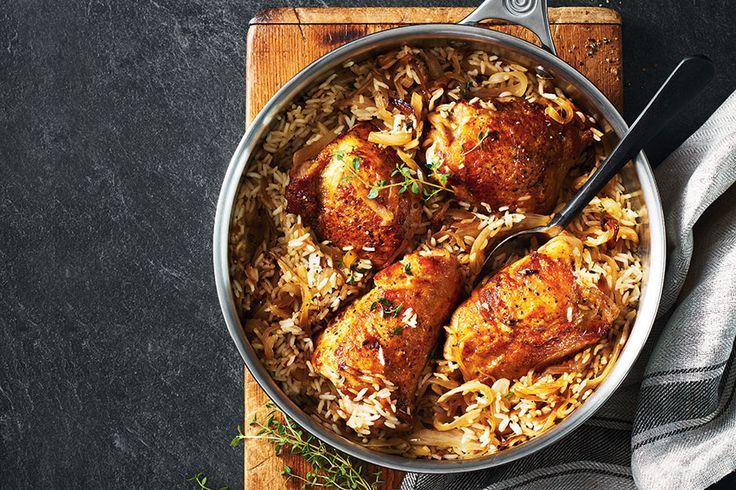 Chicken, Rice and Thyme Biryani | .canadianliving.com