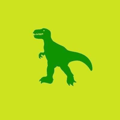 Kinderbehang Keek-a-boo Esta 114620 Felgroen, Donkergroene Dino