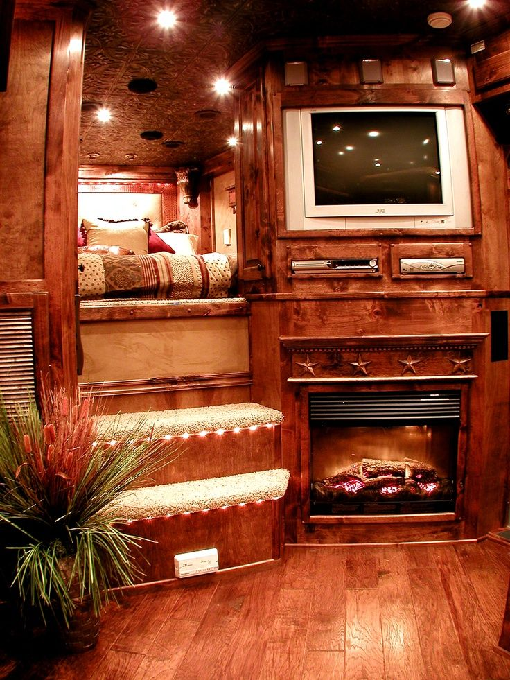 Weekender Horse Trailer Interiors Ideas | Found on outlawconversions.com