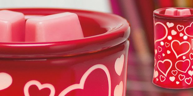 Scentsy January I Heart You Warmer Of The Month