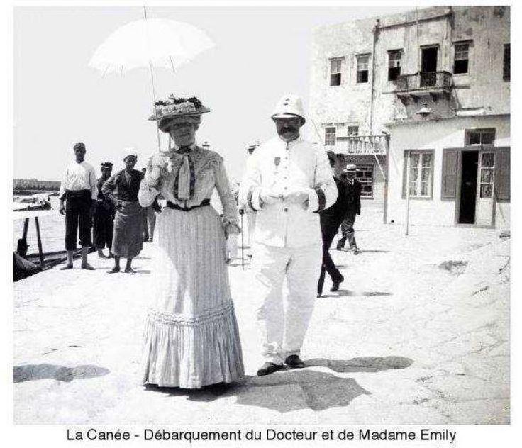 Χανιά. 1900 περίπου. Φωτογραφικό Αρχείο του συνταγματάρχη Émile Honoré Destelle. Δημοσίευση Ελένης Σημαντήρη.