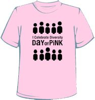 9 best pink shirt day images on Pinterest | Pink shirts, Anti ...