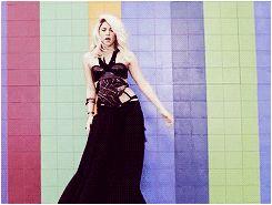 Shakira - Dare (La La La) #Shakira #dance #gif #blonde 'Is it true that you love me?'