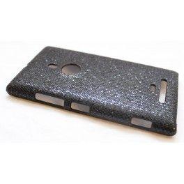 Lumia 925 musta glitter suojakuori.