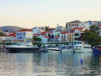 Photo of Skopelos harbor