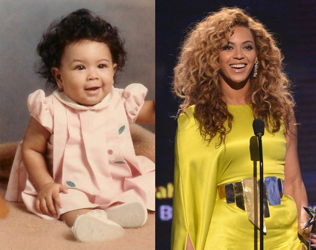 ...and people argue that Blue isn't her baby! smh. Baby Beyonce!