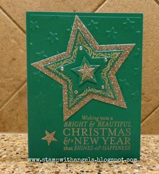 Bright and Beautiful Christmas by ange2k25 - Cards and Paper Crafts at Splitcoaststampers