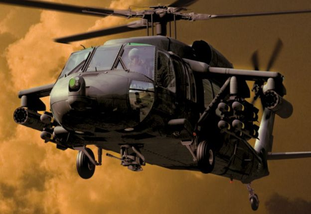 UH-60M Black Hawk Multi-Mission Helicopter ( rendering )