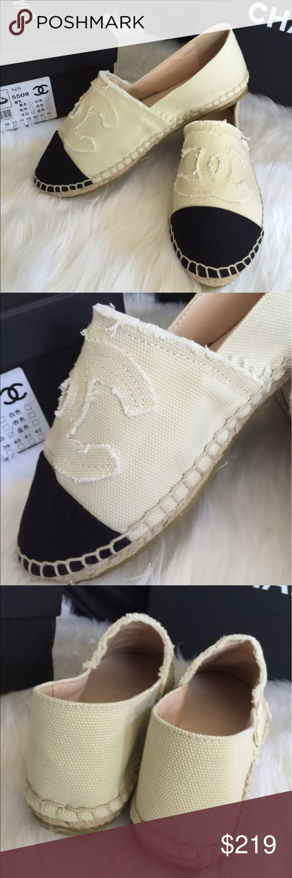 best 20 chanel shoes flats ideas on chanel