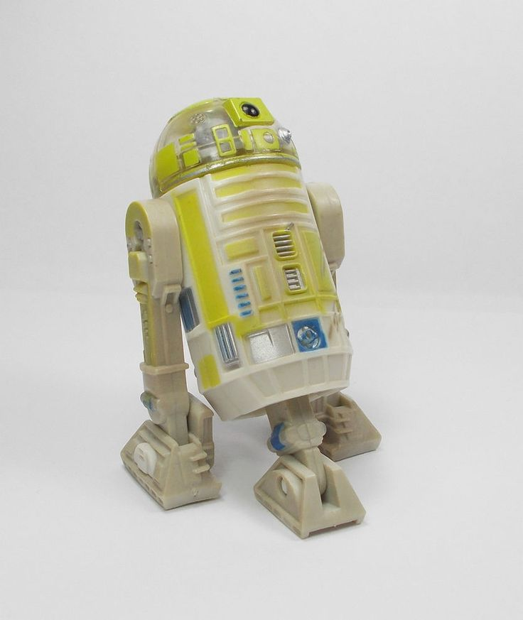 Star Wars - R3-T7 Astromech Droid - Action Toy Figure - Hasbro 2001 (1)