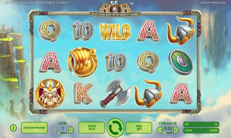 Böb: The Epic Viking Quest Slot Machine Online ᐈ NetEnt™ Casino Slots