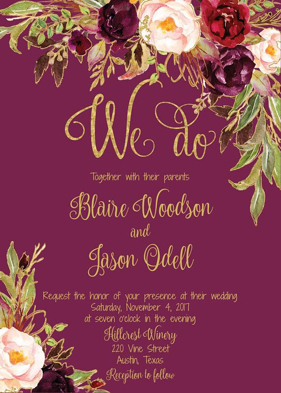 ★EDIT RIGHT IN YOUR BROWSER WITH TEMPLETT ................................................................... Print your own beautiful wedding invitations with this complete template set. These invitations, RSVP, Details, and Thank You card templates are easy to edit using our