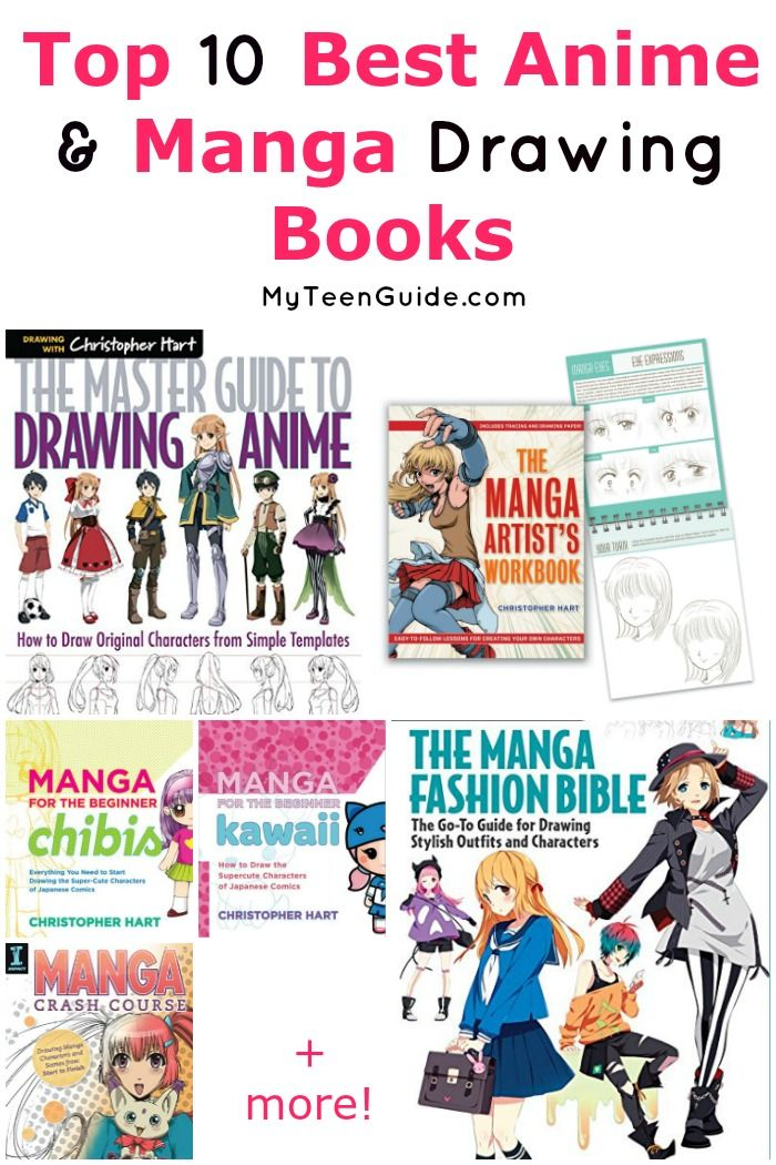 Top 10 Best Anime Drawing Books Anime Drawing Books Best Anime Drawings Top 10 Best Anime