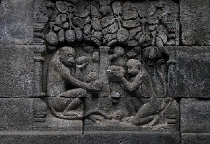 -relief-in-borobudur-temple