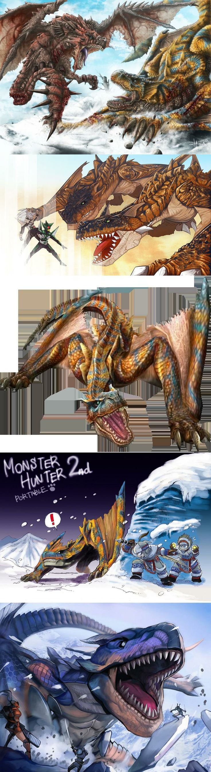 Monster hunter freedom 2 rathalos vs tig...