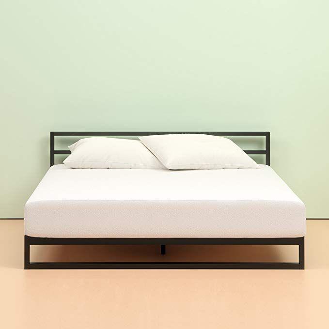 Amazon Com Zinus Memory Foam 6 Inch Green Tea Cot Size Mattress