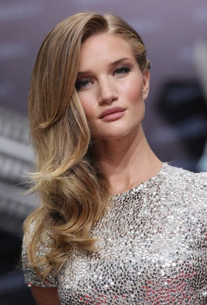 Rosie Huntington-Whiteley lipstick.  Dont know the shade but presume it is burberry
