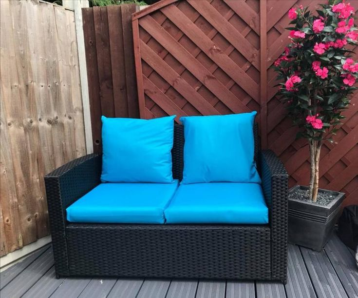 Waterproof Rattan Furniture Cushion, Waterproof Garden Seat Cushion Covers