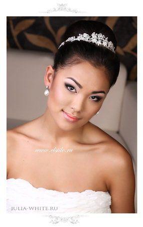 The Bride ♡ свадебная прическа на длинные волосы с ...