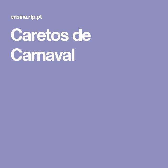 Caretos de Carnaval