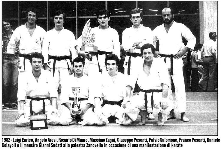 Maestro Gianni Sudati Palestra Zanovello Treviglio 1982