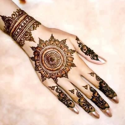 Henna Eid Mehndi Designs 2013 Female Fashion Designs Collection