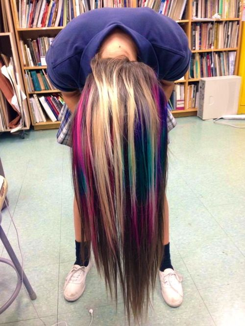 I love this! This would be a fun funky thing to do for the summer!!!