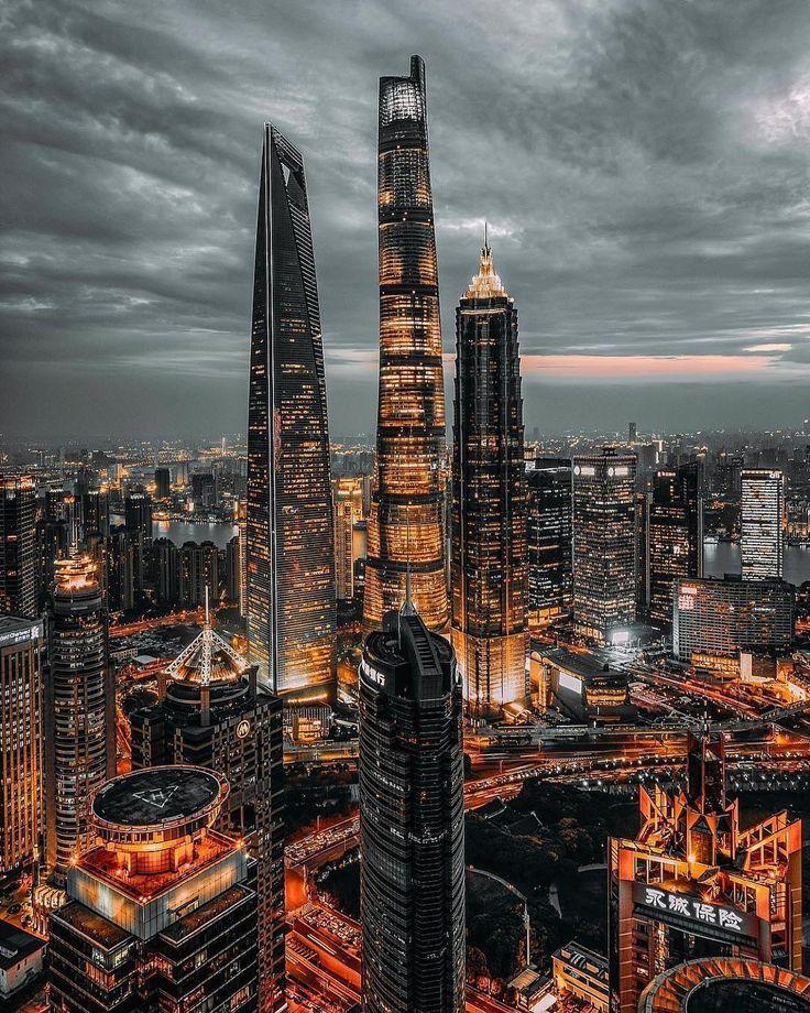 Phone Wallpaper Shanghai Shanghai China China China Architecture City Pictures City Skyline