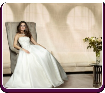 """Wild Orchid"" Wedding dress  http://www.montrealweddingdress.com/Couture-Wedding-Dresses"