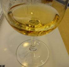 Golden coloured 2005  botrytis  affected Sauterne from  http://www.reviewfromthehouse.com/sipping-and-supping/wine-novice-takes-wset-wine-spirit-education-trust-ii-course