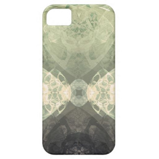 cool symmetric patterned iPhone Case - earthy tones version