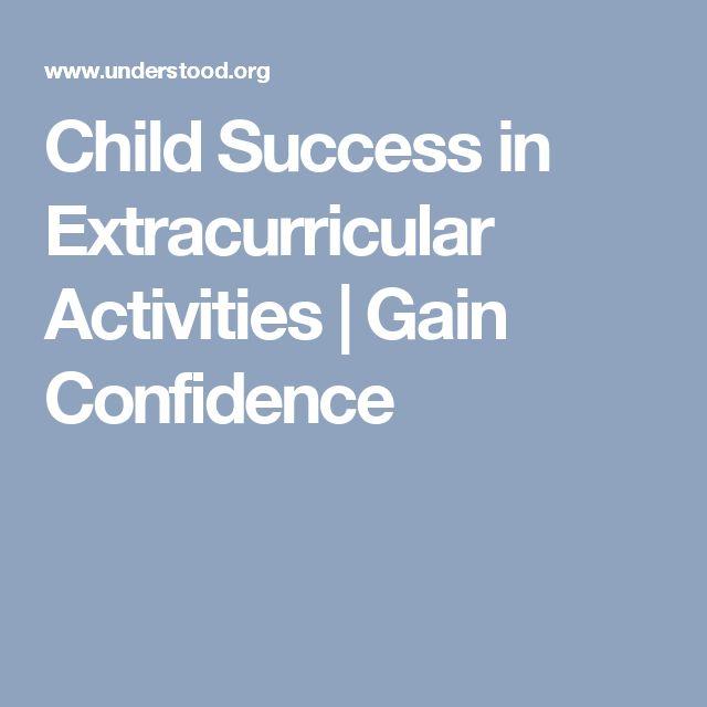 Child Success in Extracurricular Activities | Gain Confidence
